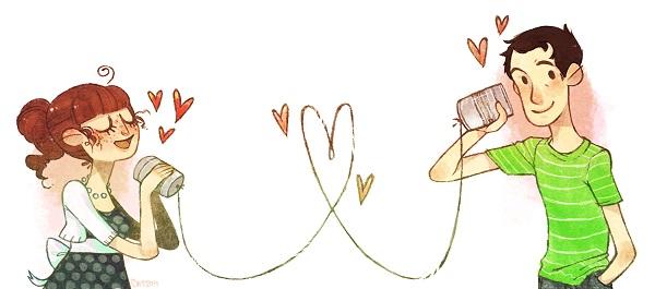 Dibujos de amor a distancia